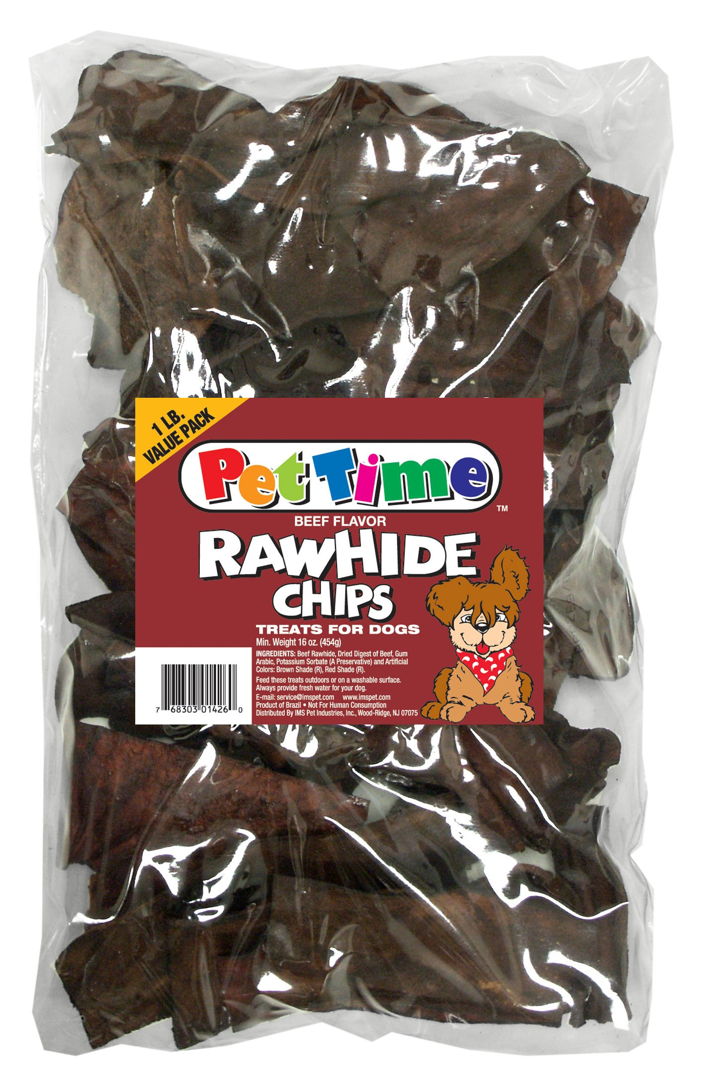 Cadet Beef Chips 1lb by IMS PET