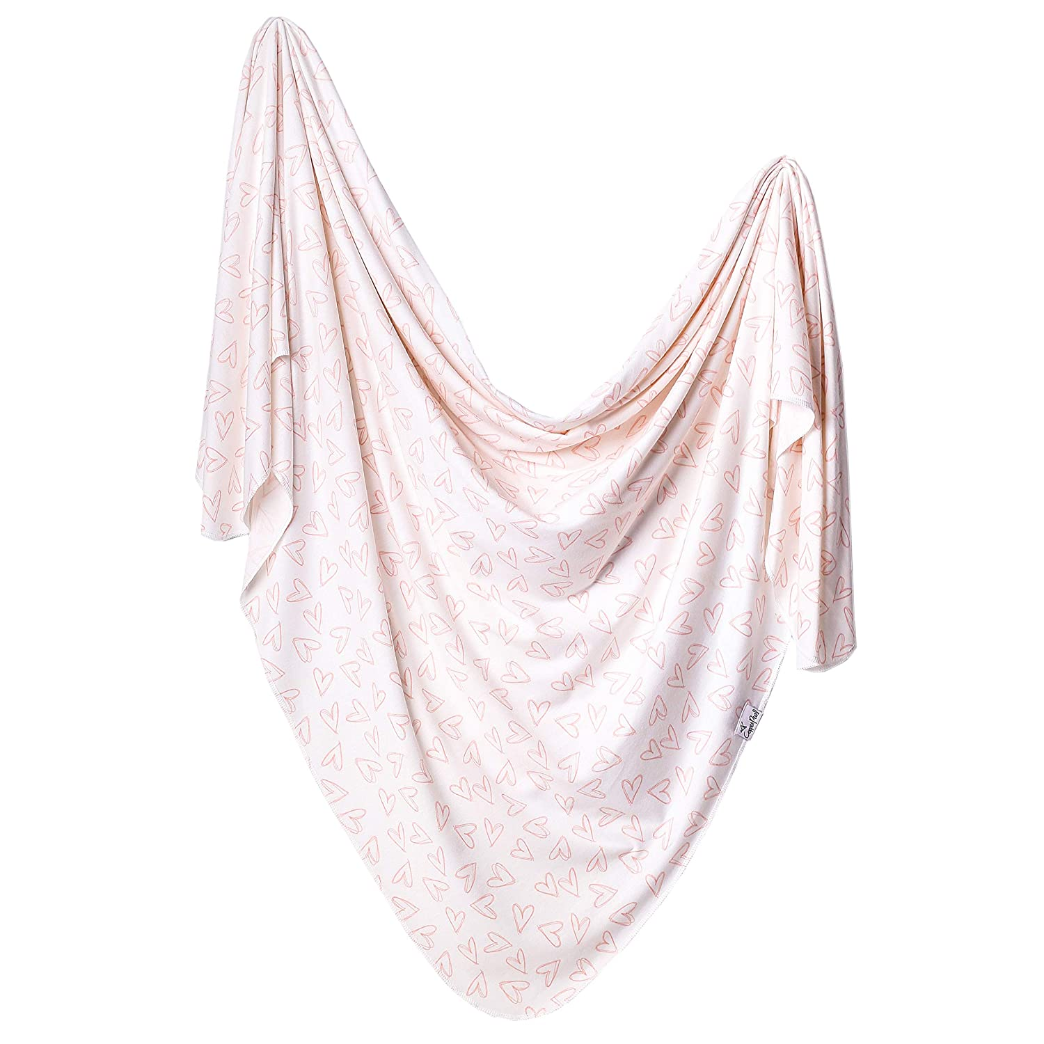 Large Premium Knit Baby Swaddle Receiving BlanketGalaxy by Copper Pearl