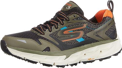 frecuencia Tesoro elegante  Skechers Go Trail Ultra 3 Running Shoes - SS16-13 Black: Amazon.co.uk:  Shoes & Bags