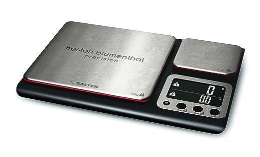10 opinioni per HoMedics Group Ltd- Salter Heton Blumenthal Bilancia con doppia piattaforma, di