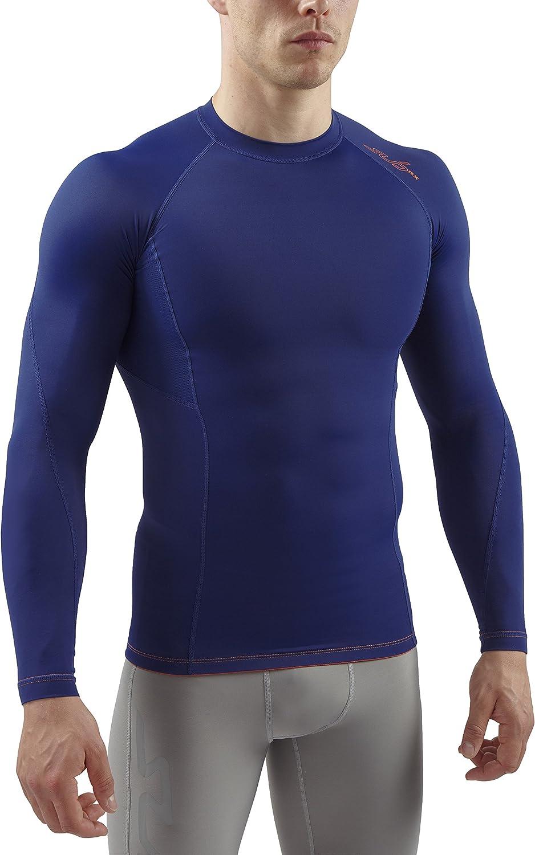 Sub Sports RX Abgestufte Kompressionsshirt Funktionsw/äsche Base Layer Langarm Camiseta Hombre