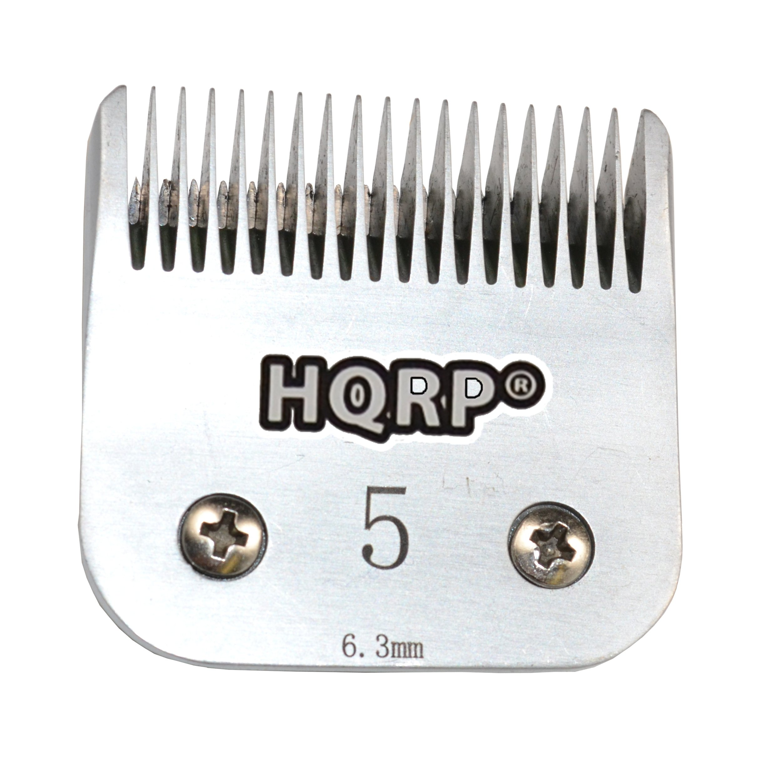 HQRP Size-5FC Animal Clipper Blade for Oster A5, A-5 Turbo 2-Speed 078005-314-002, Golden A5, Turbo A5 Pet Grooming Coaster