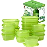 Debbie Meyer GreenBoxes 32 Piece Set – Keeps Fruits, Vegetables, Baked Goods and Snacks Fresh Longer, Reusable, BPA Free, Mic