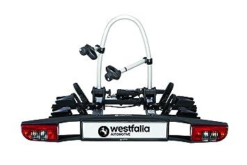 Portabicicletas Westfalia BC 60 (Version 2018) | Portabicicletas plegable para 2 bicicletas |Compatible