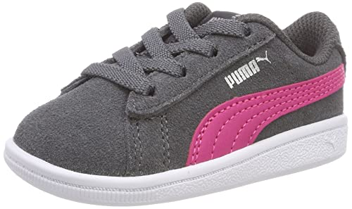 half off 18fbe 5654a Puma Vikky AC Inf, Sneakers Basses Fille, Gris (Iron Gate-Beetroot Purple