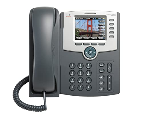 Cisco SPA525G2 SPA525 5 Line Color LCD IP SIP Phone Wifi Bluetooth PoE 2 LAN