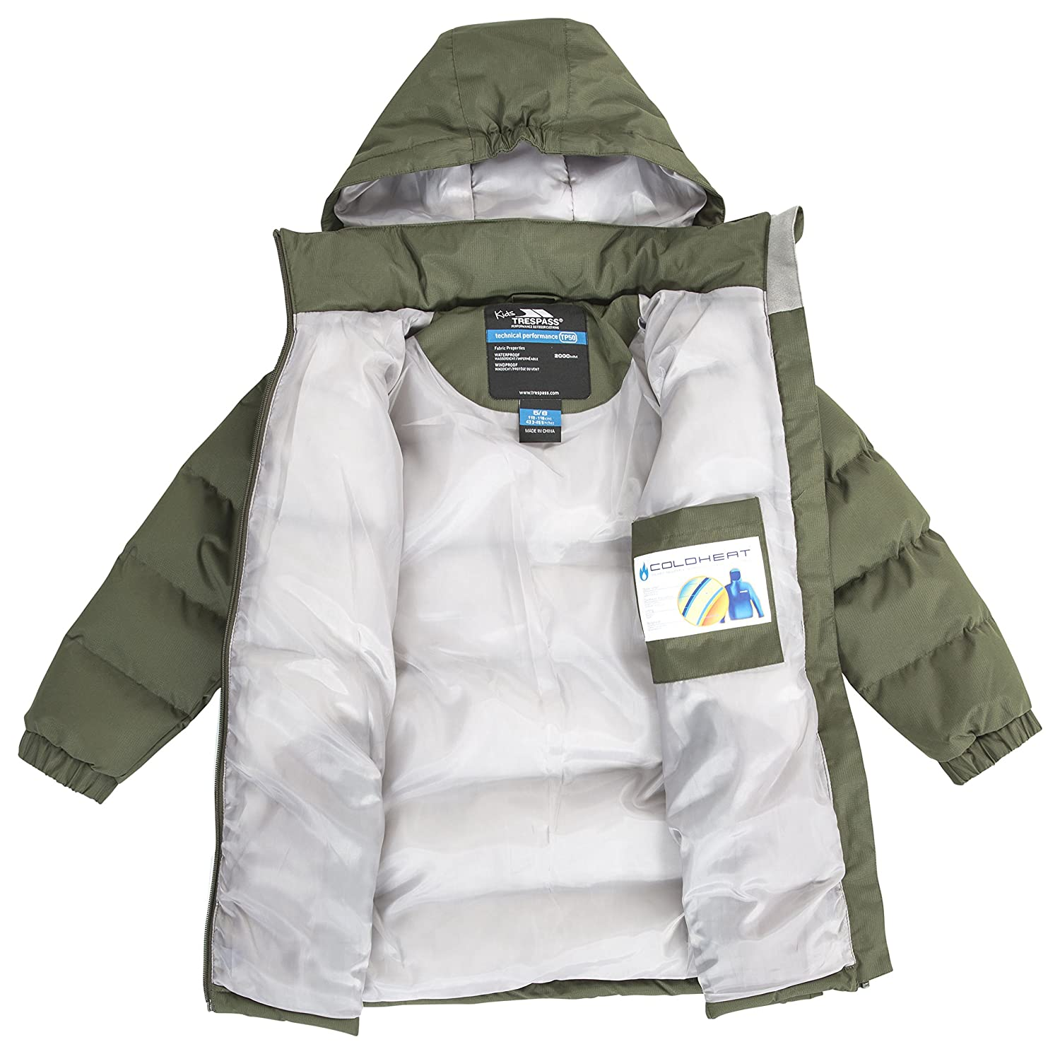 6f512ac61 Trespass Kids Tiffy Jacket: Amazon.co.uk: Sports & Outdoors