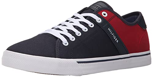 Tommy Hilfiger Men's Roamer Fashion Sneaker, Navy, ...