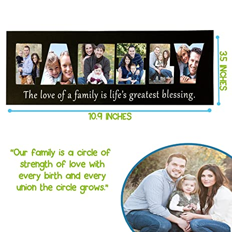 Amazon Family Fridge Magnets Magnetic Picture Frame