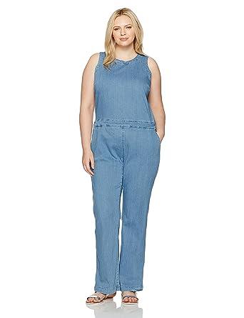 38649ac21d34 Amazon.com  RACHEL Rachel Roy Women s Plus Size Cutout Jumpsuit  Clothing