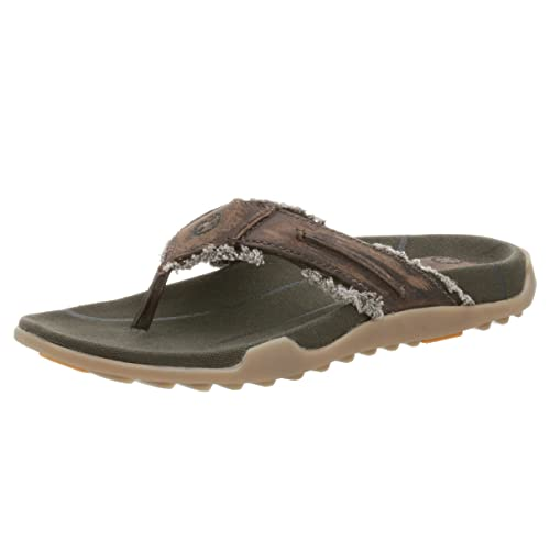 15784924af73 Dr. Martens Men s Josh Frayed Toe Thong Sandal