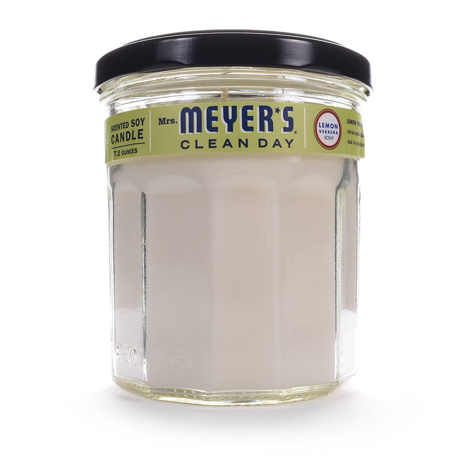 Mrs. Meyer's Soy Candle - Lemon Verbena - 7.2 oz Candle Honest Green thomaswi
