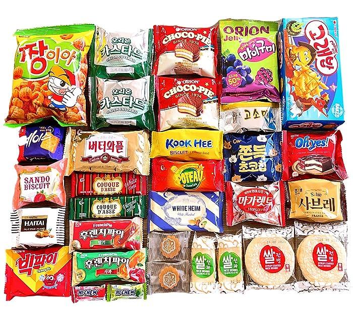 Top 9 Korean Junk Food Snack