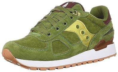 4461f4cd0099 Saucony Shadow Original Suede Ranger Men 6.5 Green