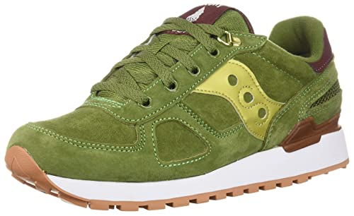 Saucony Sneaker in Tessuto Tecnico e Camoscio con para in