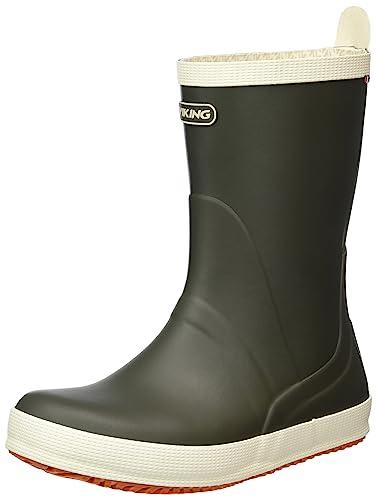Rain boots Gummistiefel für Damen, Klassische Stiefel für Herren Rutschfeste, wasserdichte Stiefel Wasserfeste Schuhe für Erwachsene (Farbe : A, größe : 36#)