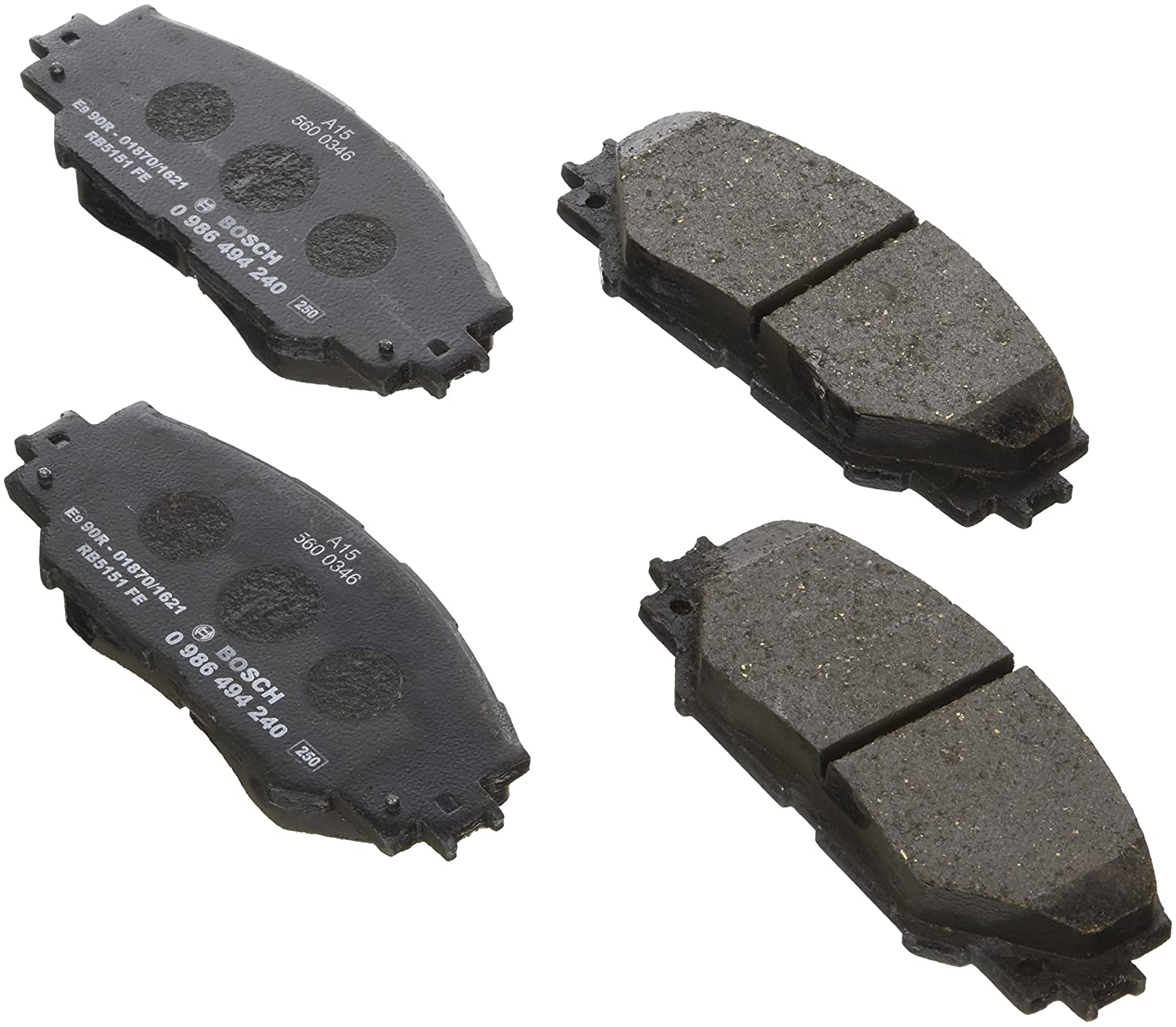 Bosch 0986494240 Brake Pad Set