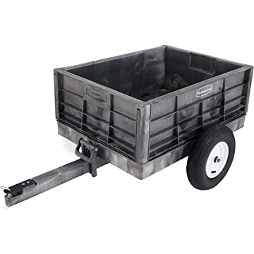 powerful Rubbermaid Tractor Cart