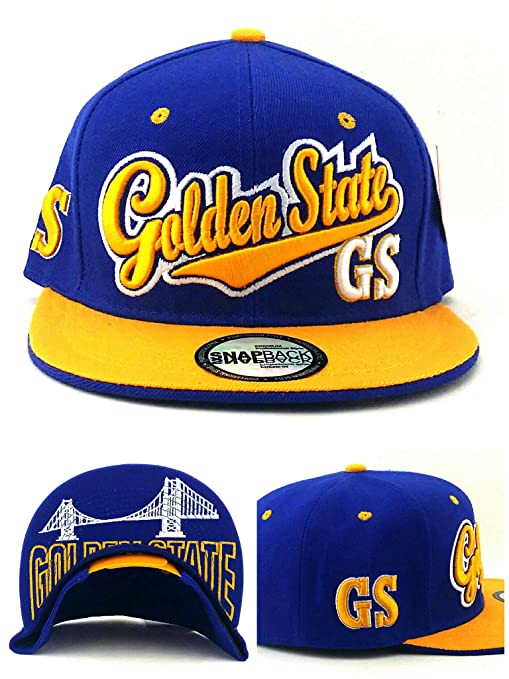 Amazon.com   Golden State New Top Pro Bridge Skyline Warriors Colors ... 0eab241daf5a