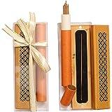Oud Incense Stick 20Pcs 10.8 CM Long With Luxury Wooden Burner