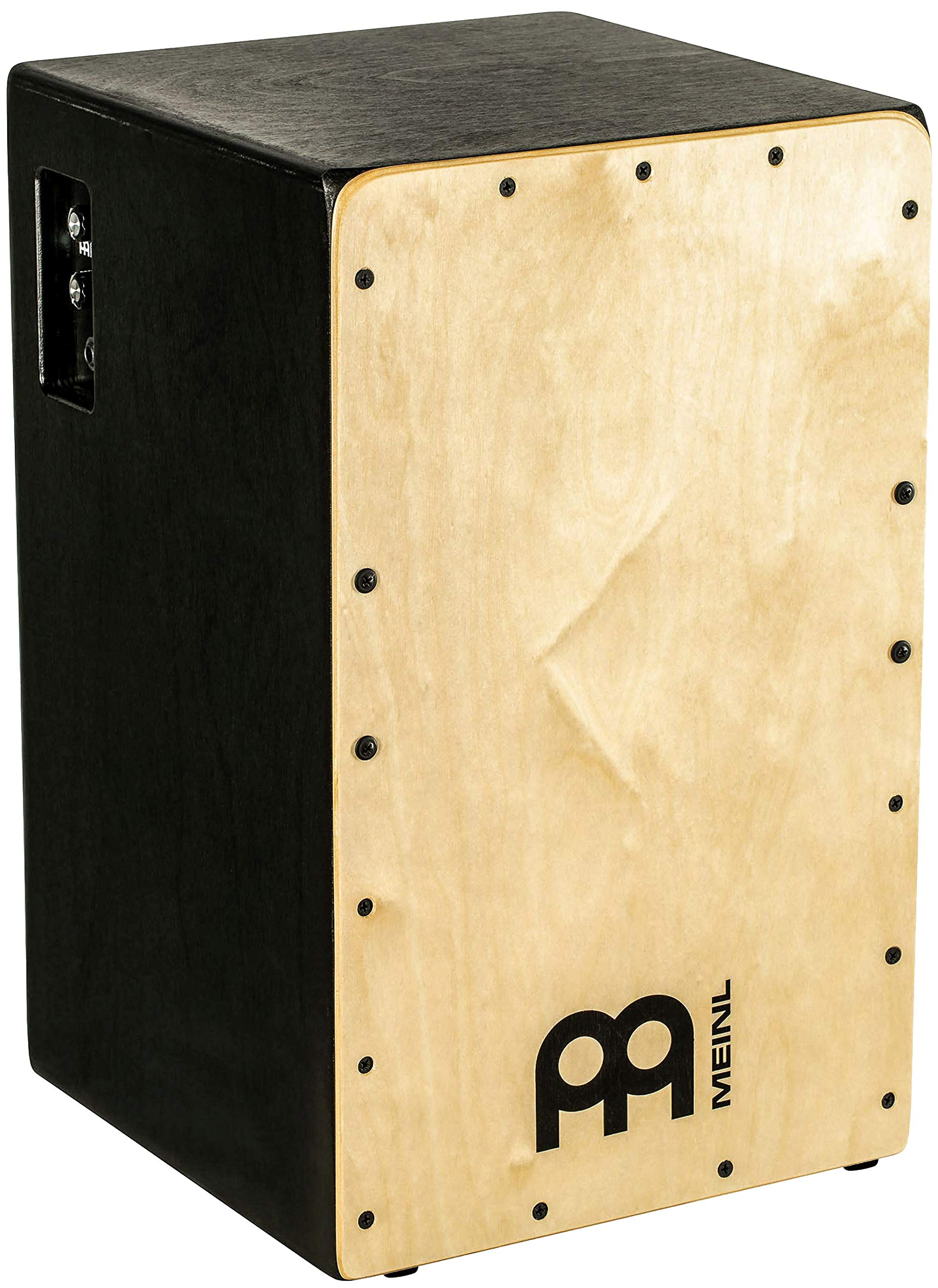 Meinl Pickup Cajon Box Drum with Internal Snares - MADE IN EUROPE - Baltic Birch Wood, Snarecraft Series, 2-YEAR WARRANTY (PSC100B) by Meinl Percussion (Image #1)