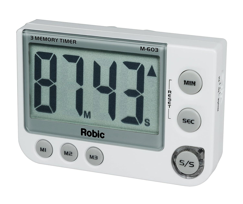 Amazon.com: Robic Three Memory Timer: Sports & Outdoors