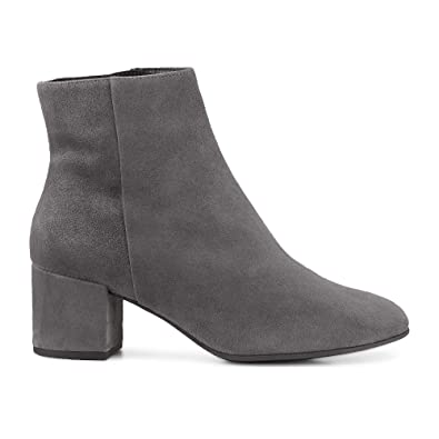 6168c0f2324122 HÖGL 6-10 4112 Daydream Stylish Ankle Boots in Grey Suede: Amazon.co ...
