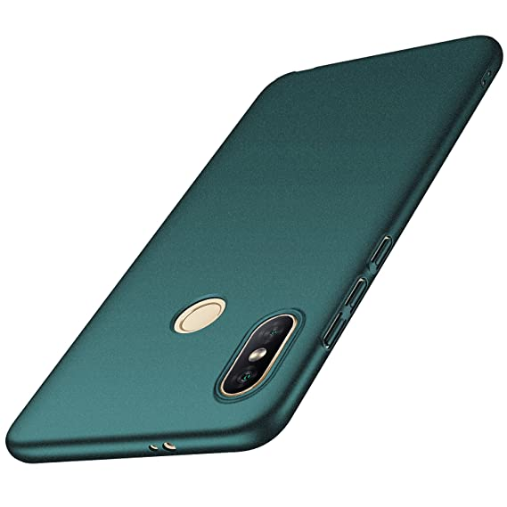reputable site ffd16 f34d8 Anccer Xiaomi Redmi Note 5 Pro Case, Redmi Note 5 Case [Colorful Series]  [Ultra-Thin] [Anti-Drop] Premium Material Slim Fit Cover (Gravel Green)