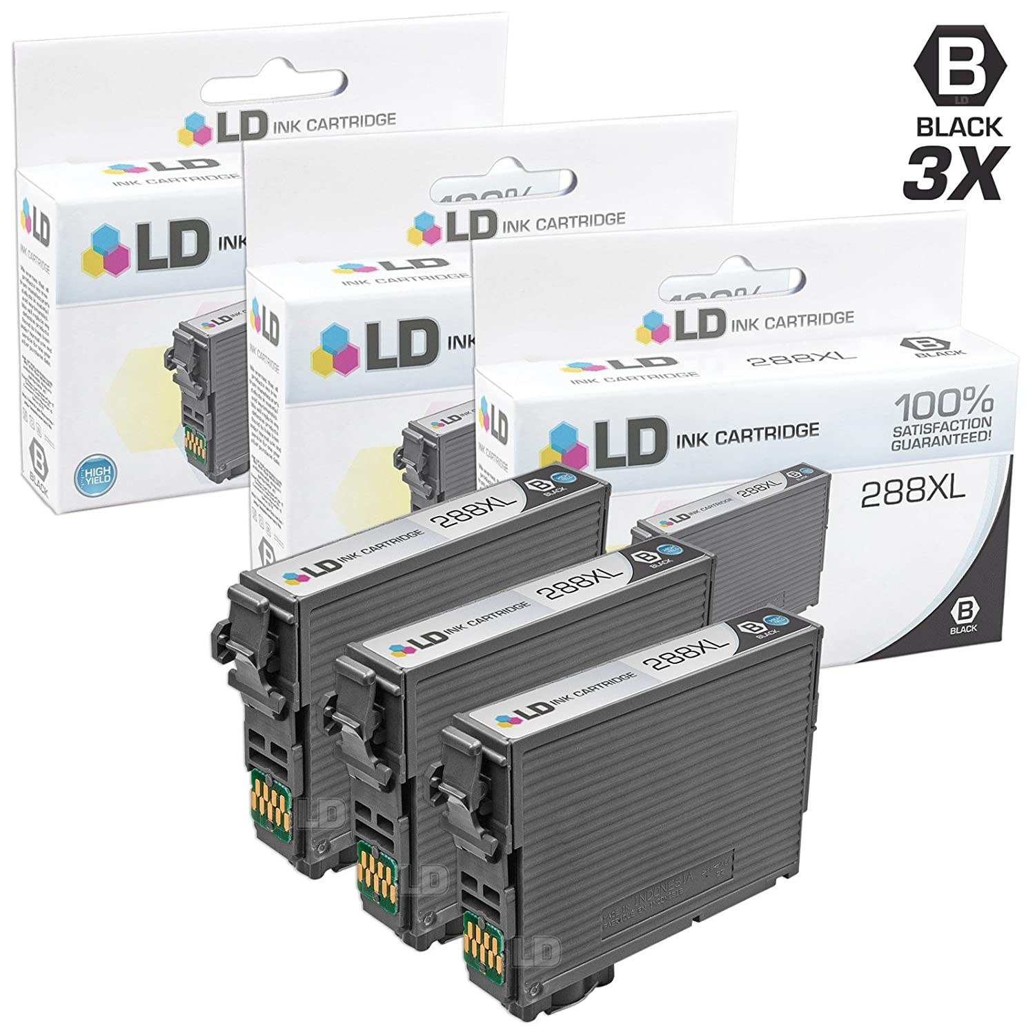 LD Products Remanufactured Ink Cartridge Replacement for