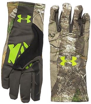 Under Armour hombres del olor Control 2 Caza guantes - 1284445, Realtree Ap-Xtra/Velocity: Amazon.es: Deportes y aire libre