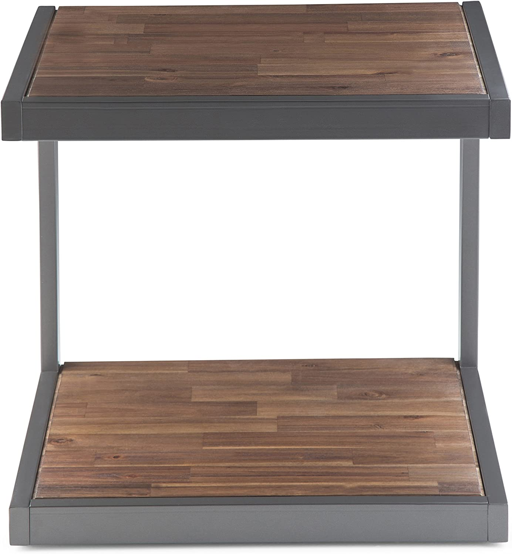 Simpli Home Skyler C Side End Tables Birch
