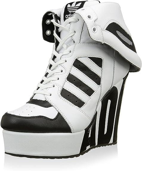 adidas Js Streetball Platform, Chaussures en Forme de Bottines Femme