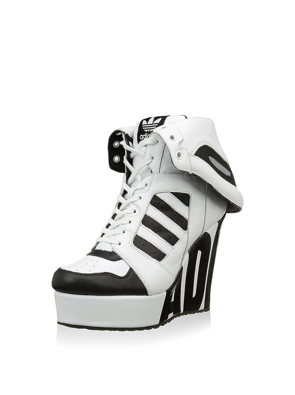 cf0fd88d7351 adidas Women s M29006 Lace Up Shoes White Size  6.5 UK  Amazon.co.uk ...