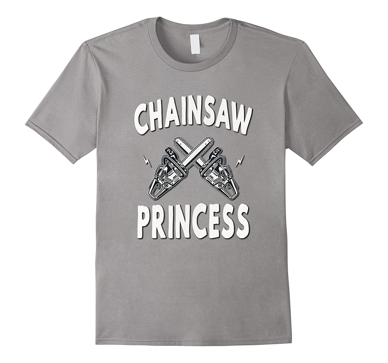 Chainsaw Princess Vintage Scary Horror Movie Love T-Shirt-TJ