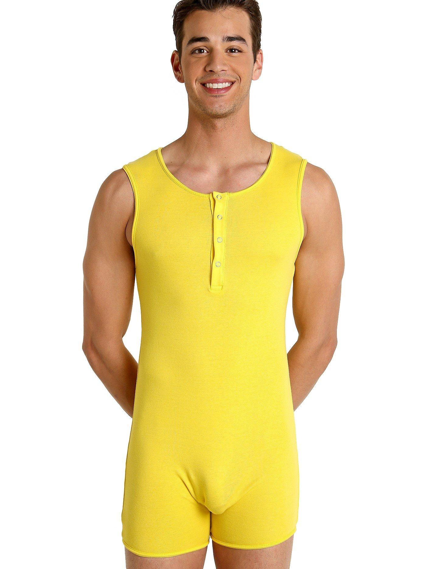 Go Softwear California Guy Onesie Sunshine Yellow
