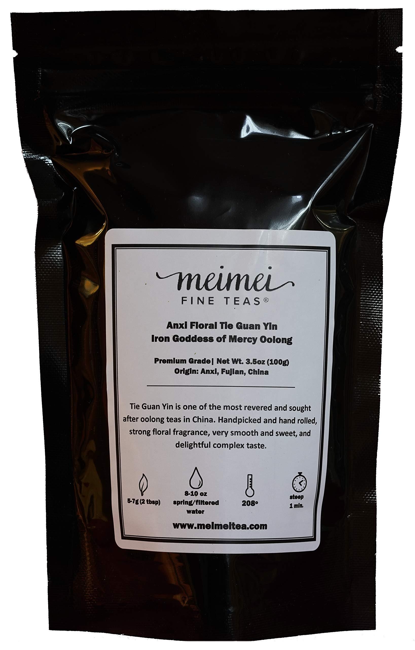 MeiMei Fine Teas Oolong (Anxi Tie Guan Yin, 100 grams)