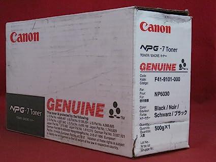 Canon NPG-7 Toner Cartridge - Tóner para impresoras láser (10000 ...