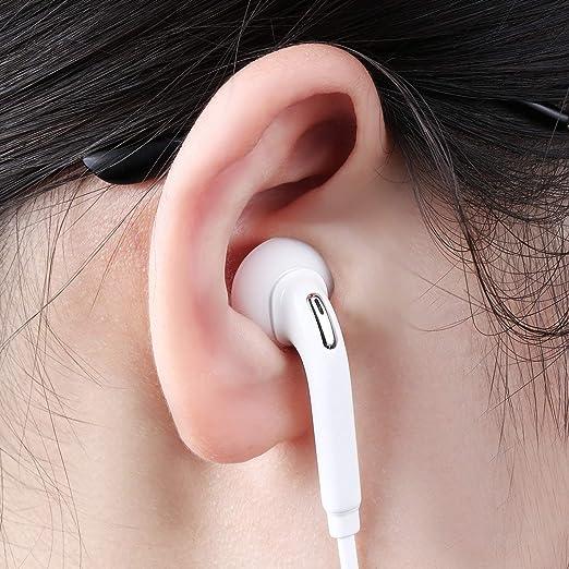 Alansep Kopfh/örer Ohrh/örer Mode 10 Paar 20 St/ück Ersatz Ohrstecker Knospen f/ür iPhone Kopfh/örer