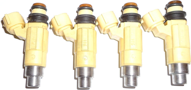 Set Of 4 Fuel Injectors Cdh240 for Dodge Chrysler Eclipse Galant 2.4L