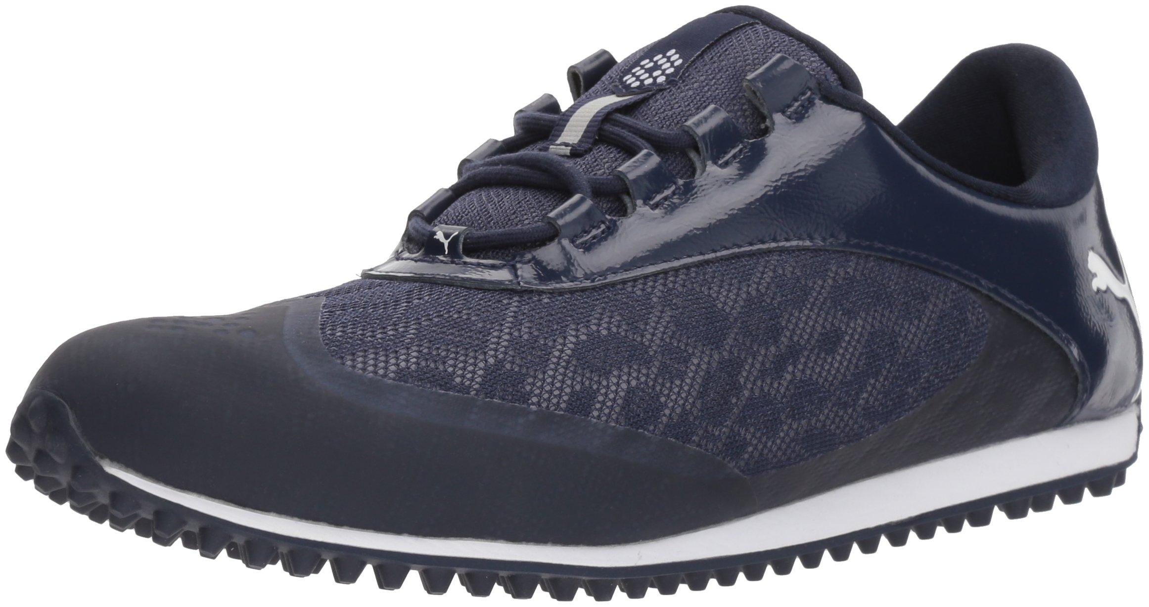 PUMA Golf Women's Summercat Sport Golf Shoe, Peacoat/White, 8.5 Medium US
