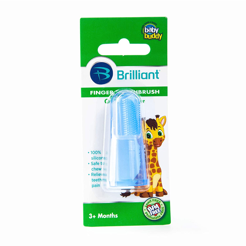 無料発送 Baby Buddy Finger Toothbrush Stage Finger 2 by for Babies/Toddlers, Babies/Toddlers, Kids Love Them, Blue by Baby Buddy B00I8OQC7U, お名前シールのお店 おなまえ王国:c0e60297 --- a0267596.xsph.ru