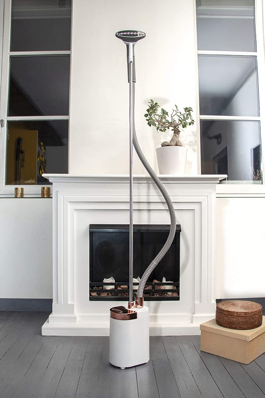 STEAMONE MI10MW Plancha Vertical Minilys White, 1900 W, plástico, Blanco