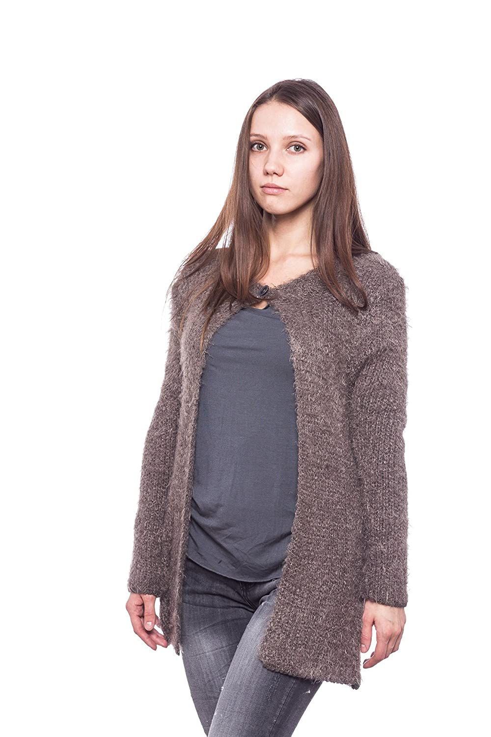Abbino 83161 Cardigans Women - Made In Italy - 3 Colors - Womens Elegant Sale