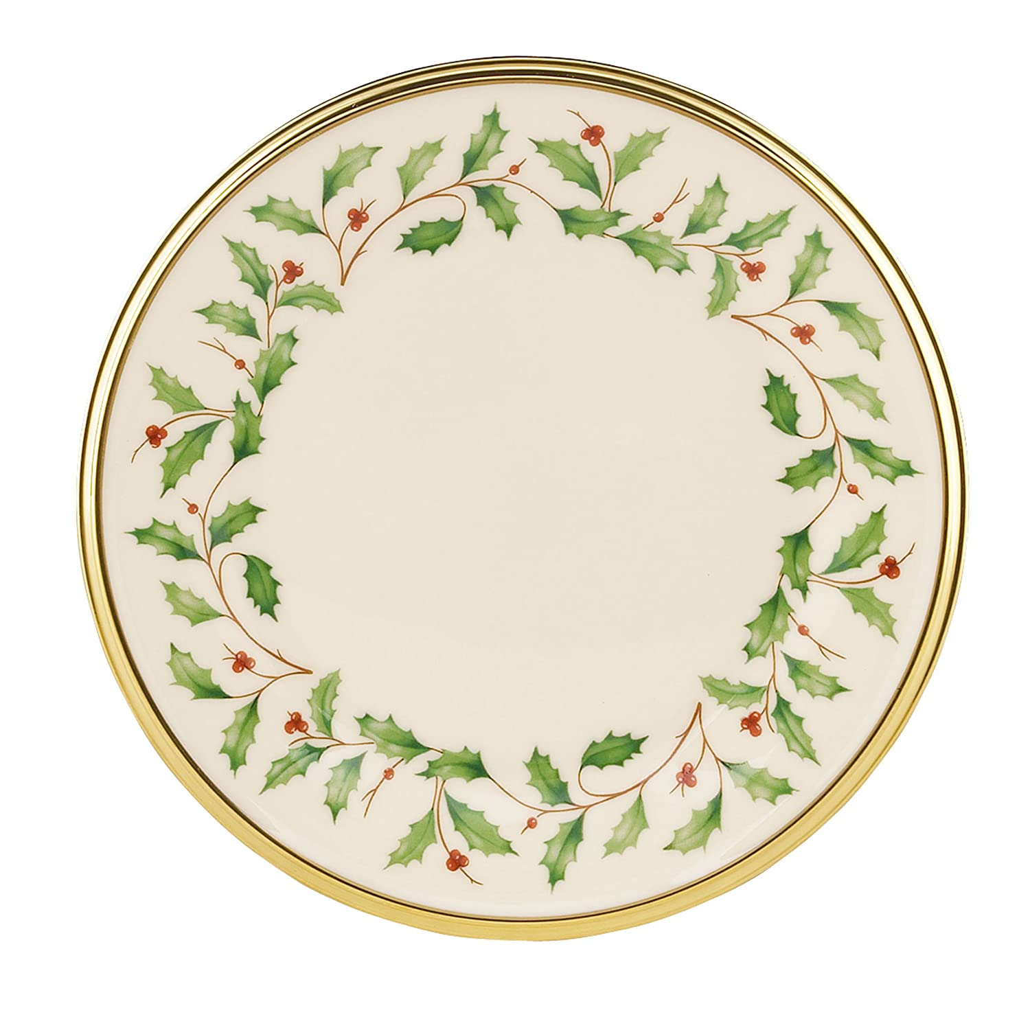 Amazon.com Lenox Holiday Bread \u0026 Butter Plate 6 Inches Lenox Holiday China Kitchen \u0026 Dining  sc 1 st  Amazon.com : lenox paper plates - pezcame.com