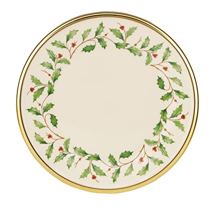 Lenox Holiday Bread u0026 Butter Plate 6 Inches  sc 1 st  Amazon.com & Amazon.com: Lenox Holiday Bread u0026 Butter Plate 6 Inches: Lenox ...