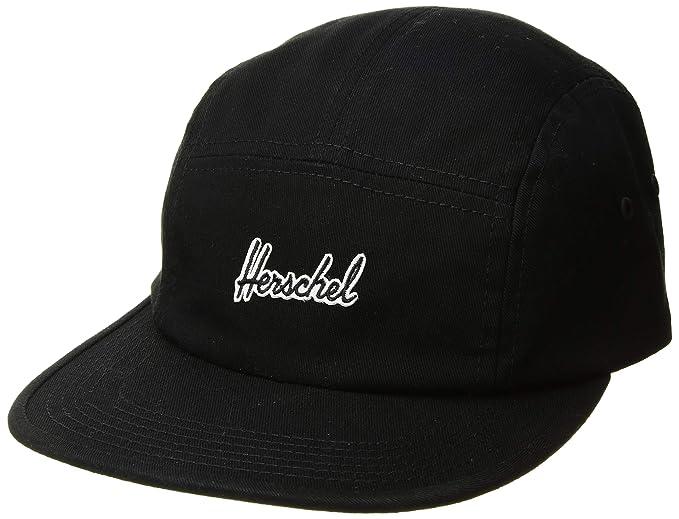 Herschel Gorras Glendale Black 5-Panel: Amazon.es: Ropa y accesorios