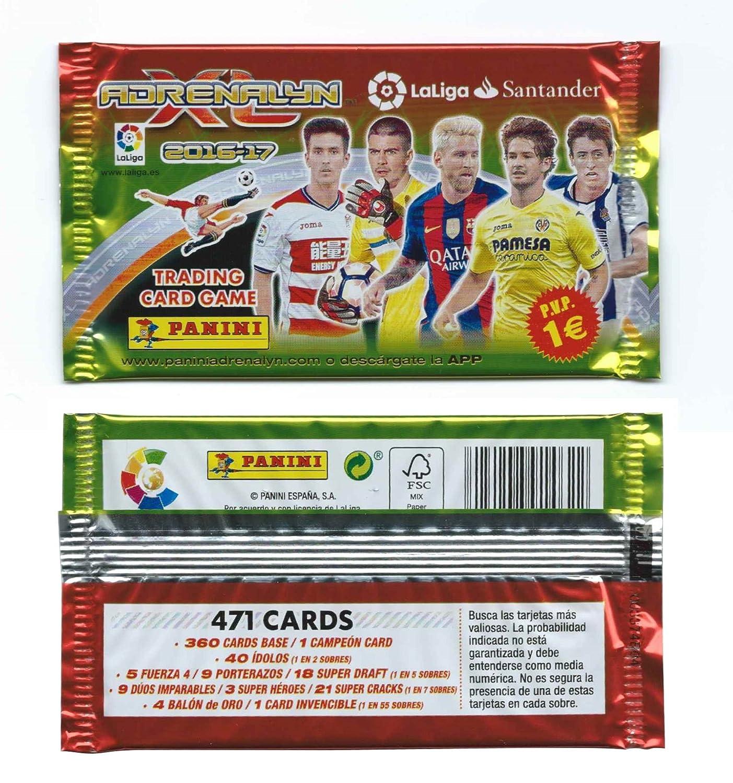Pack Para Coleccionar LaLiga Trading Card Game Adrenalyn XL 2016 ...