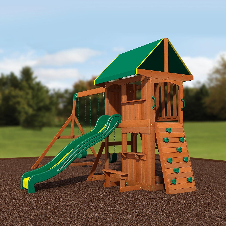 amazon com backyard discovery somerset all cedar wood playset