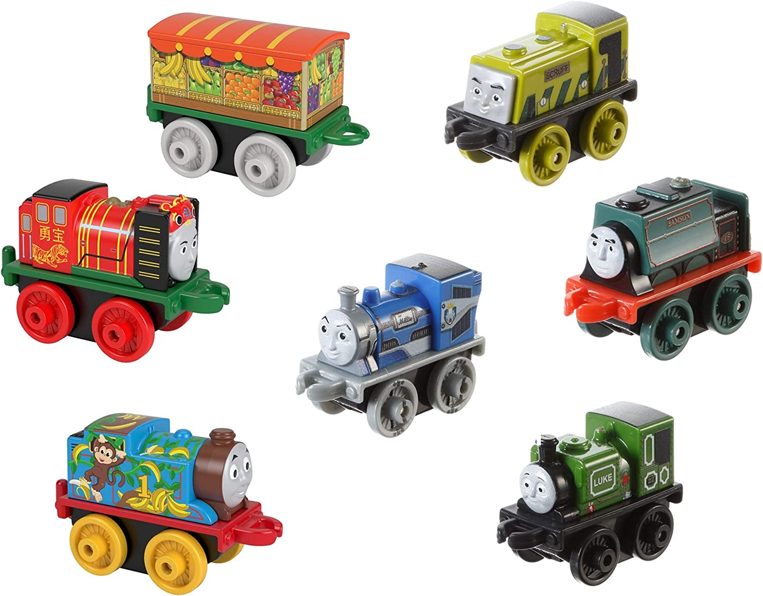 Fisher-Price Thomas /& Friends Minis Train Engines Lot of 15