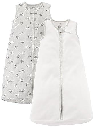 49f3f2de1 Amazon.com: Carter's Baby 2-Pack Cotton Sleepbag: Clothing